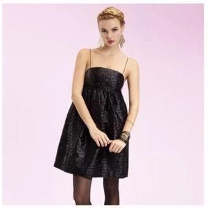 NWOT Manoush prom cocktail dress black shimmery